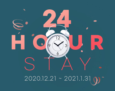 24HOURS STAY
